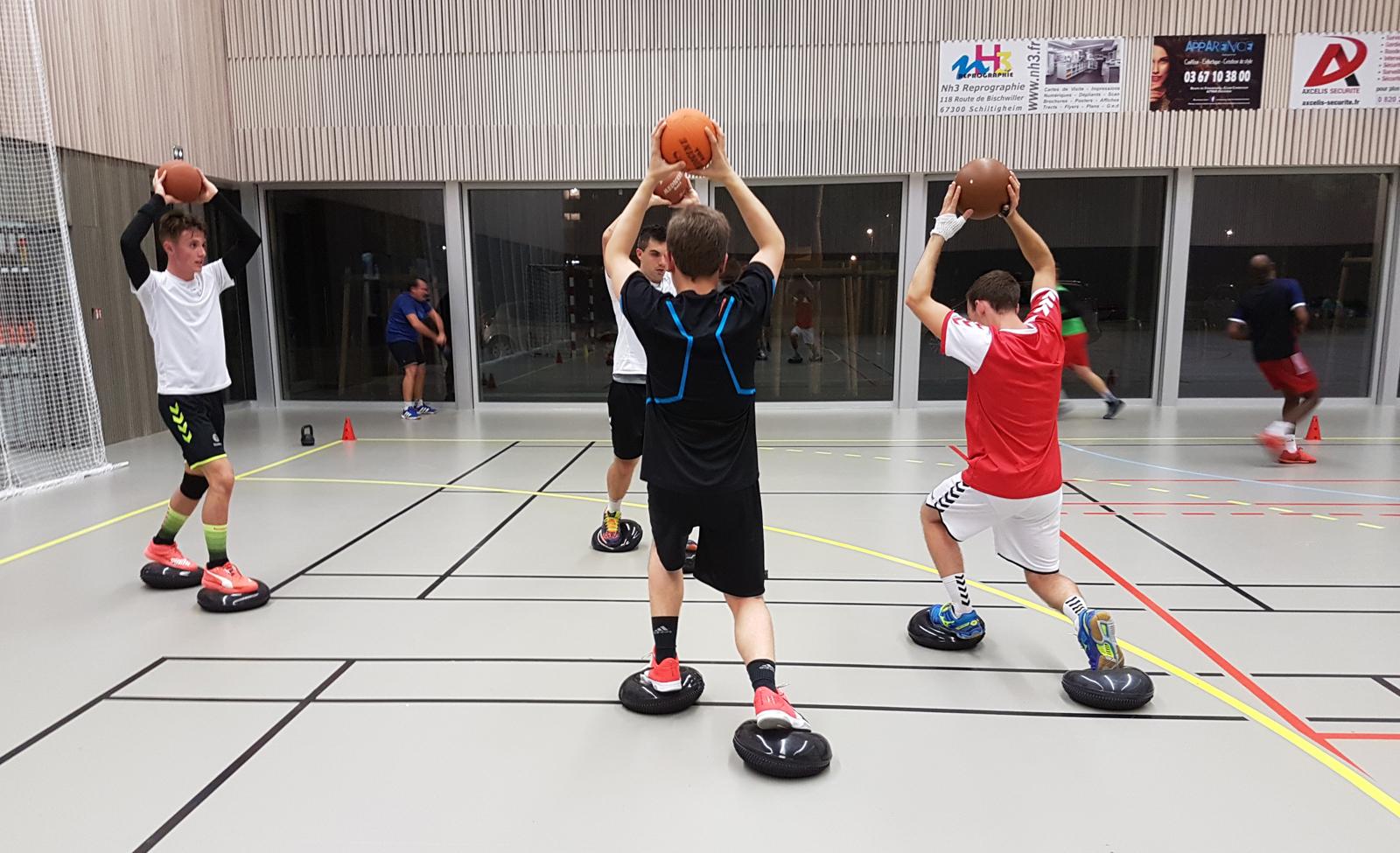 Sport collectifs, préparation physique et encadrement d'équipes