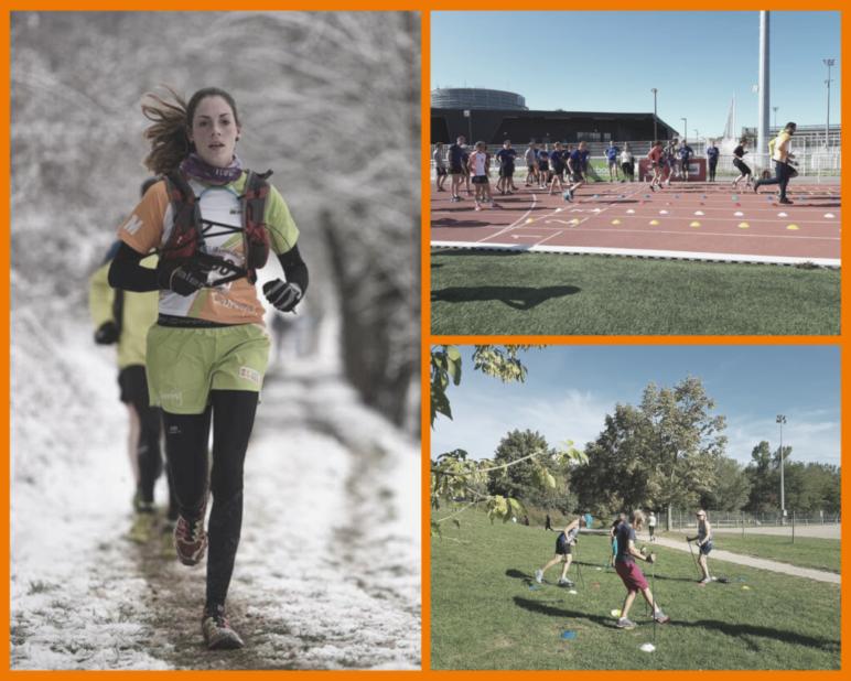 Marche nordique, Running et Trail
